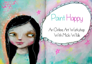 Paint happy for etsy
