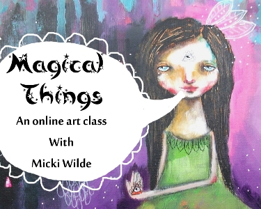 Online art class magical things for typepad